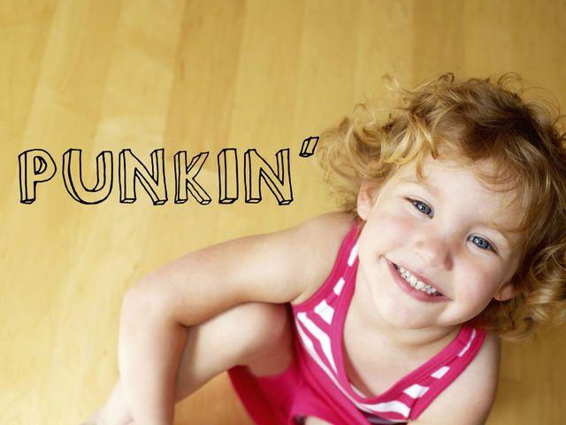 Punkin' I got punkin'  Ok it says that u have amazing hugs and really fun