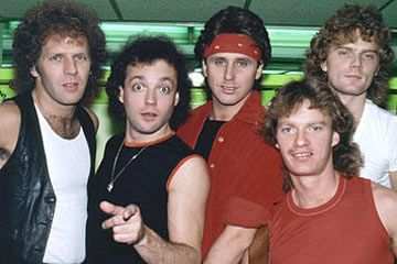Loverboy -1981 - Cow Palace - Opened for Journey - I went to see Journey - After seeing Mike Reno with red leather pants on sing his heart out I became a Loverboy fan!