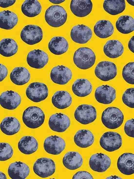 Fruit pattern #berries #food #fruit #kitsch #color #art #graphicdesign #textiledesign #print #pattern #repeatpattern #patterndesign