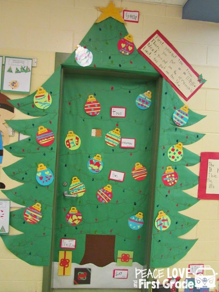 Peace Love and First Grade Holiday Doors Galore! & Peace Love and First Grade: Holiday Doors Galore! | Door Ideas ...