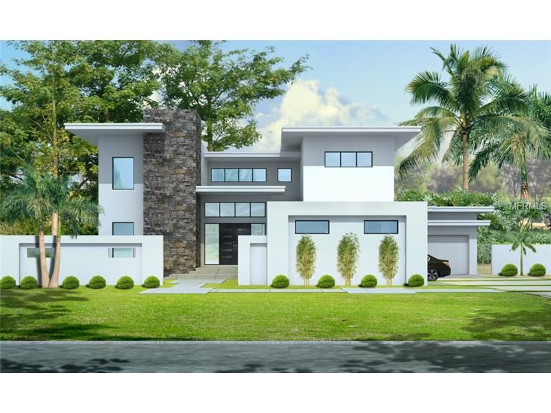 Modern New Construction South Tampa 4806 W Longfellow Ave Fl 33629 Mls T2710351