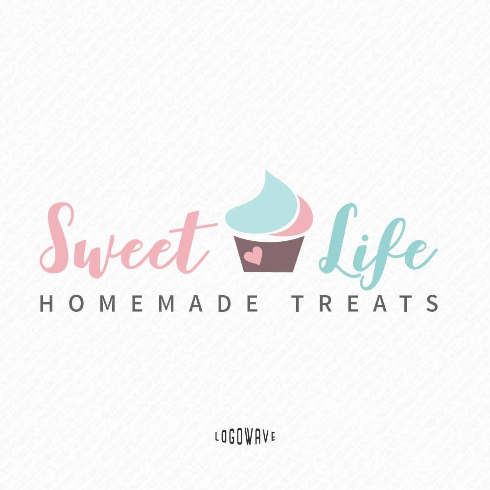 Bakery Logo Design Bakery Cupcake Logo Cupcake Handmade Logo