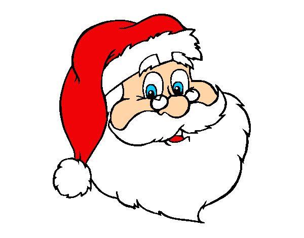 Dibujo De Color Para Imprimir Eventos Navidad Papa Noel Numero 327358 Cara De Papa Noel Papa Noel Dibujo Papa Noel Navideno