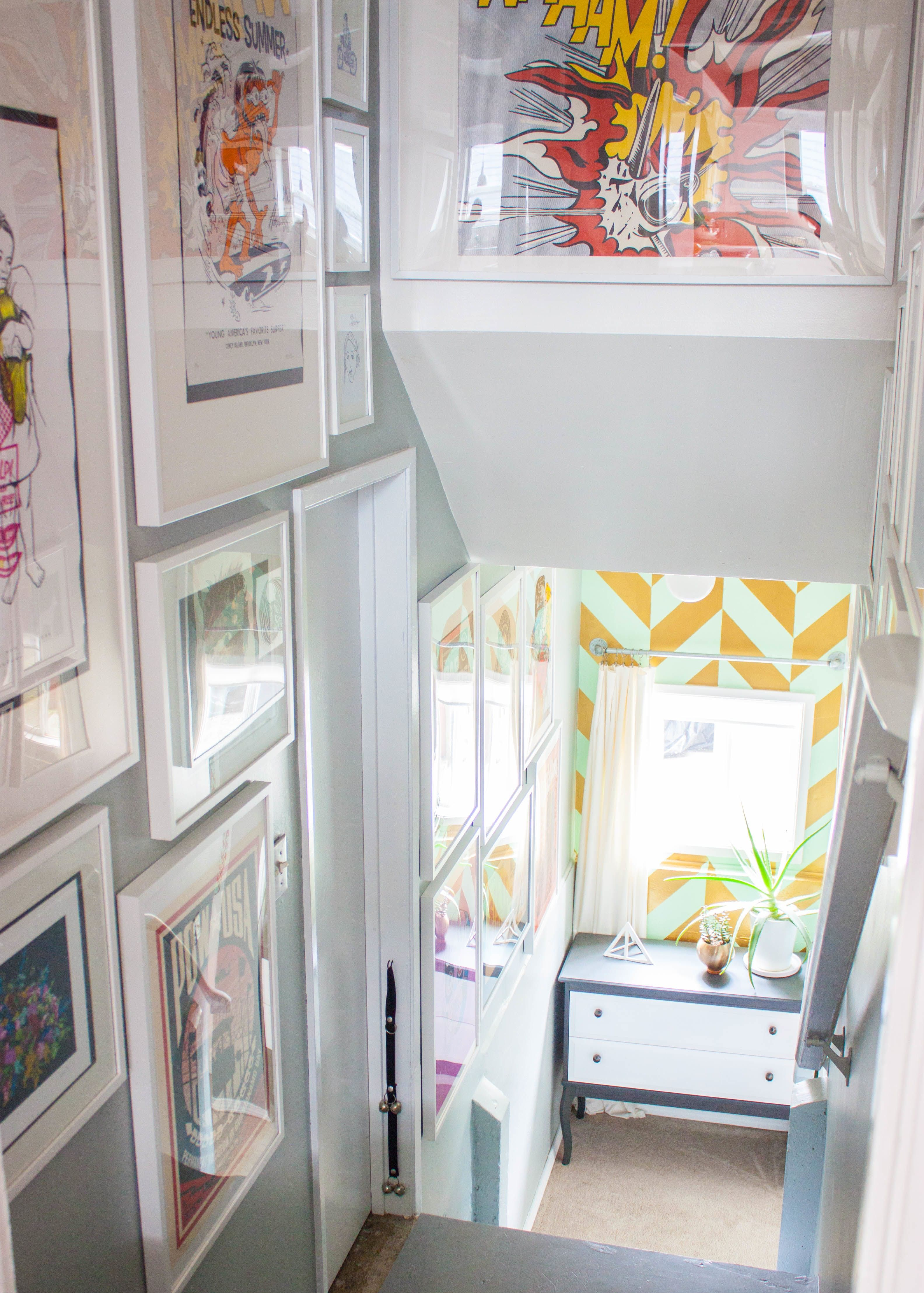 House Tour: A Playful, Pop Art-Inspired Seattle Home   Houses ...
