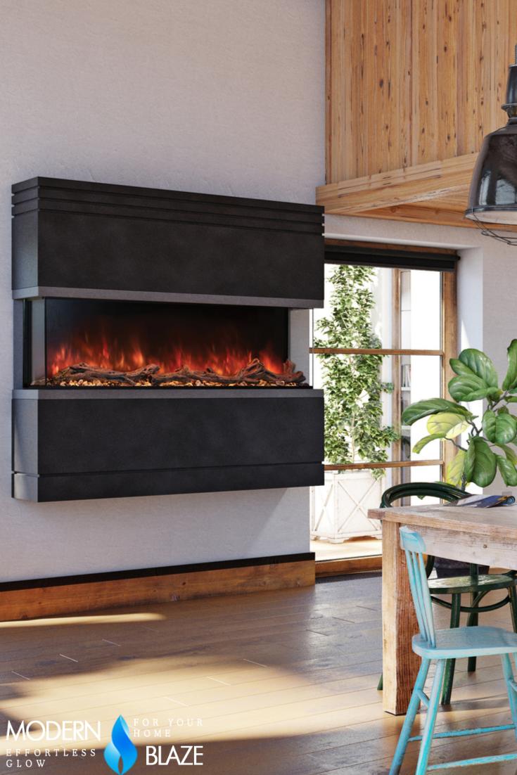 Modern Flames Landscape Pro Multi 3 Sided Smart Electric Fireplace Sizes 44 96 Modern Flames Electric Fireplace Fireplace
