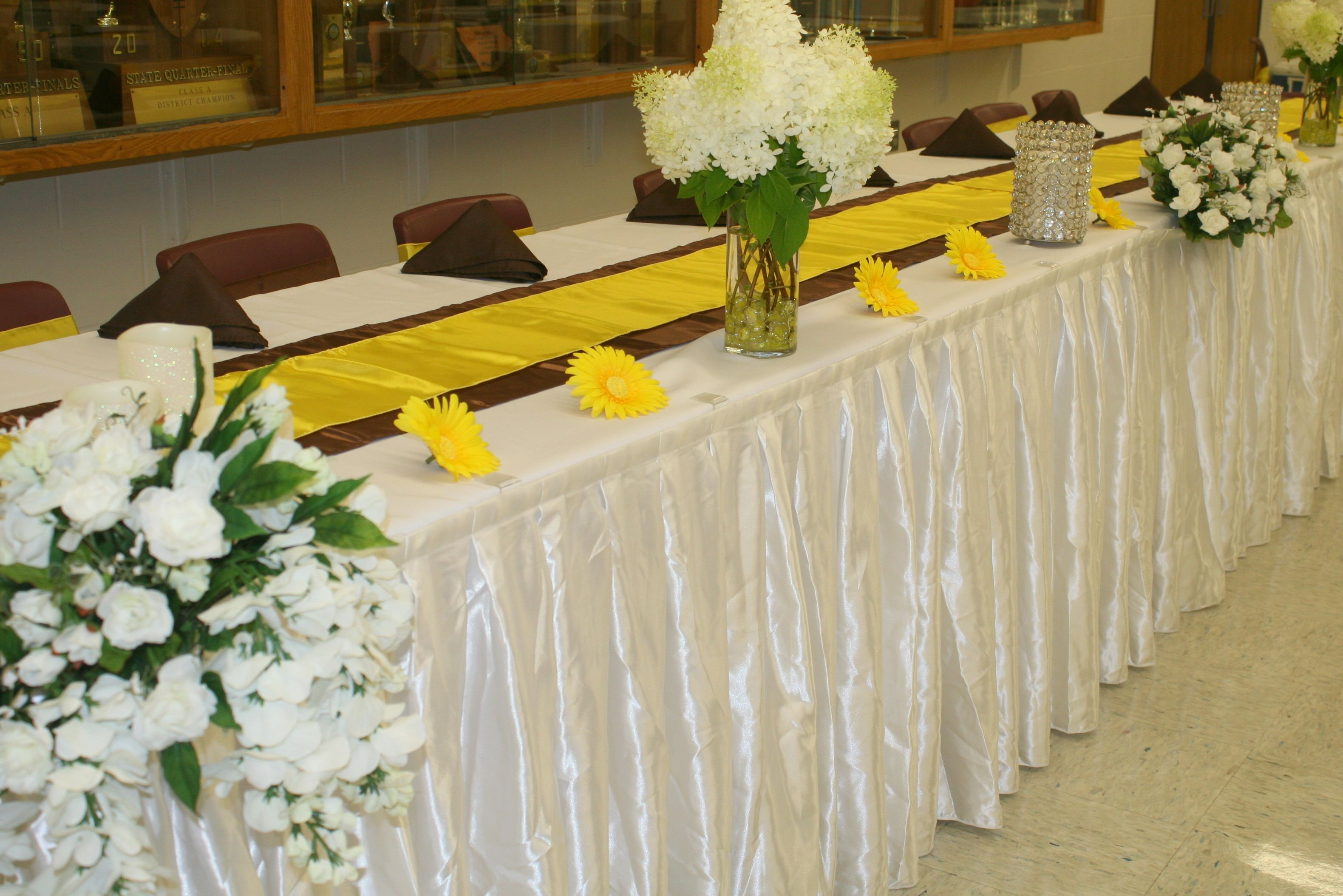 Brown and Canary Yellow Theme | Wedding Ideas | Pinterest | Weddings