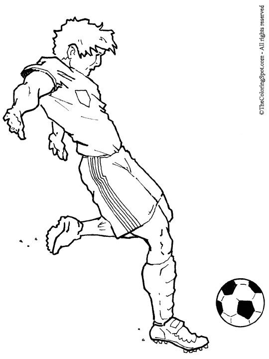 howtodrawsoccer marseilles rec board soccer camp 2012 dates announced - Girl Soccer Player Coloring Pages