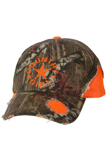 0187db4d09e Women s Country Girl® Mossy Oak® Star Hat