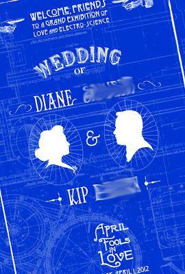 Blueprint wedding programs steampunk ideas pinterest wedding blueprint wedding programs malvernweather Images