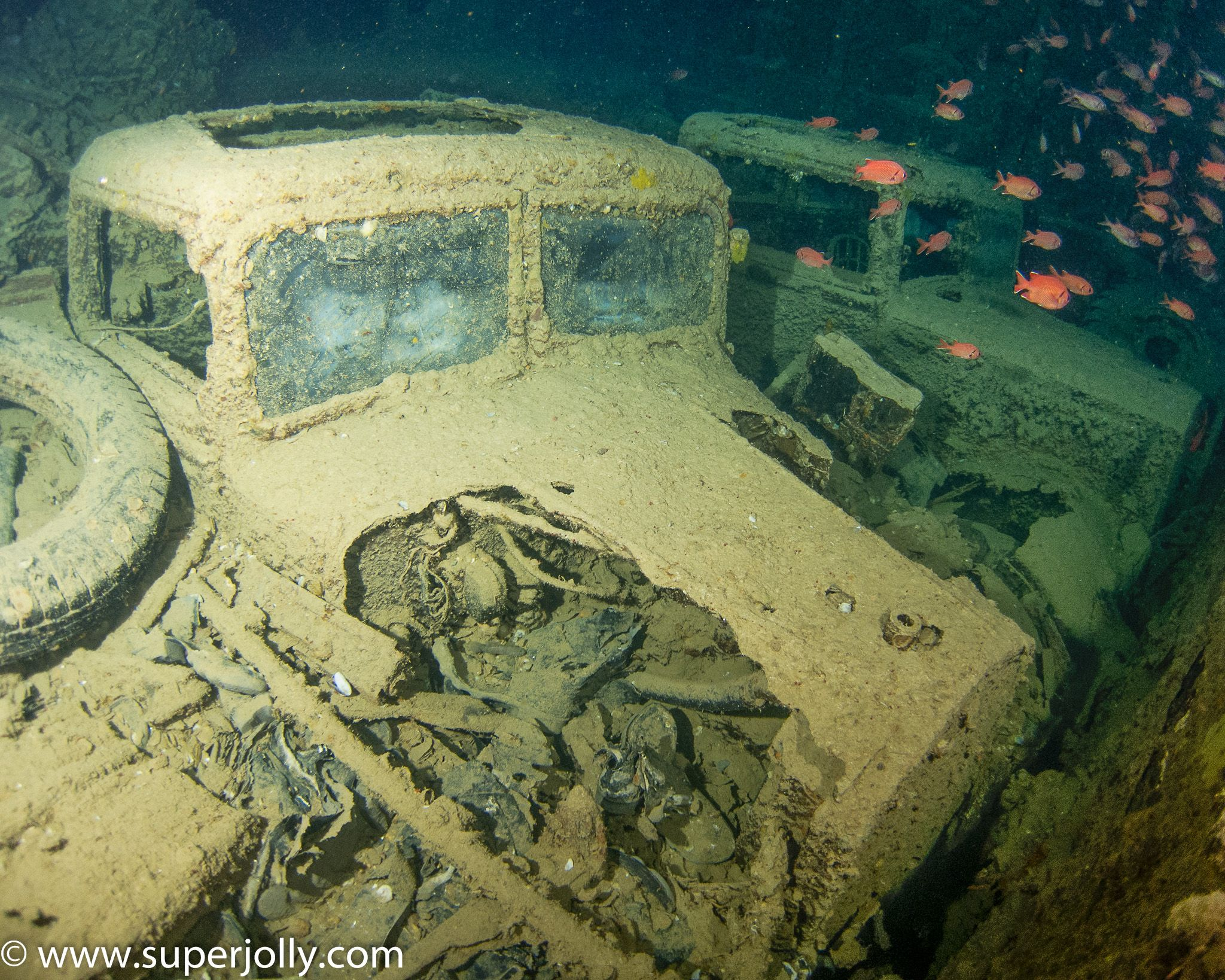 Wreck Of The Ss Thistlegorm In The Egyptian Red Sea Sunk