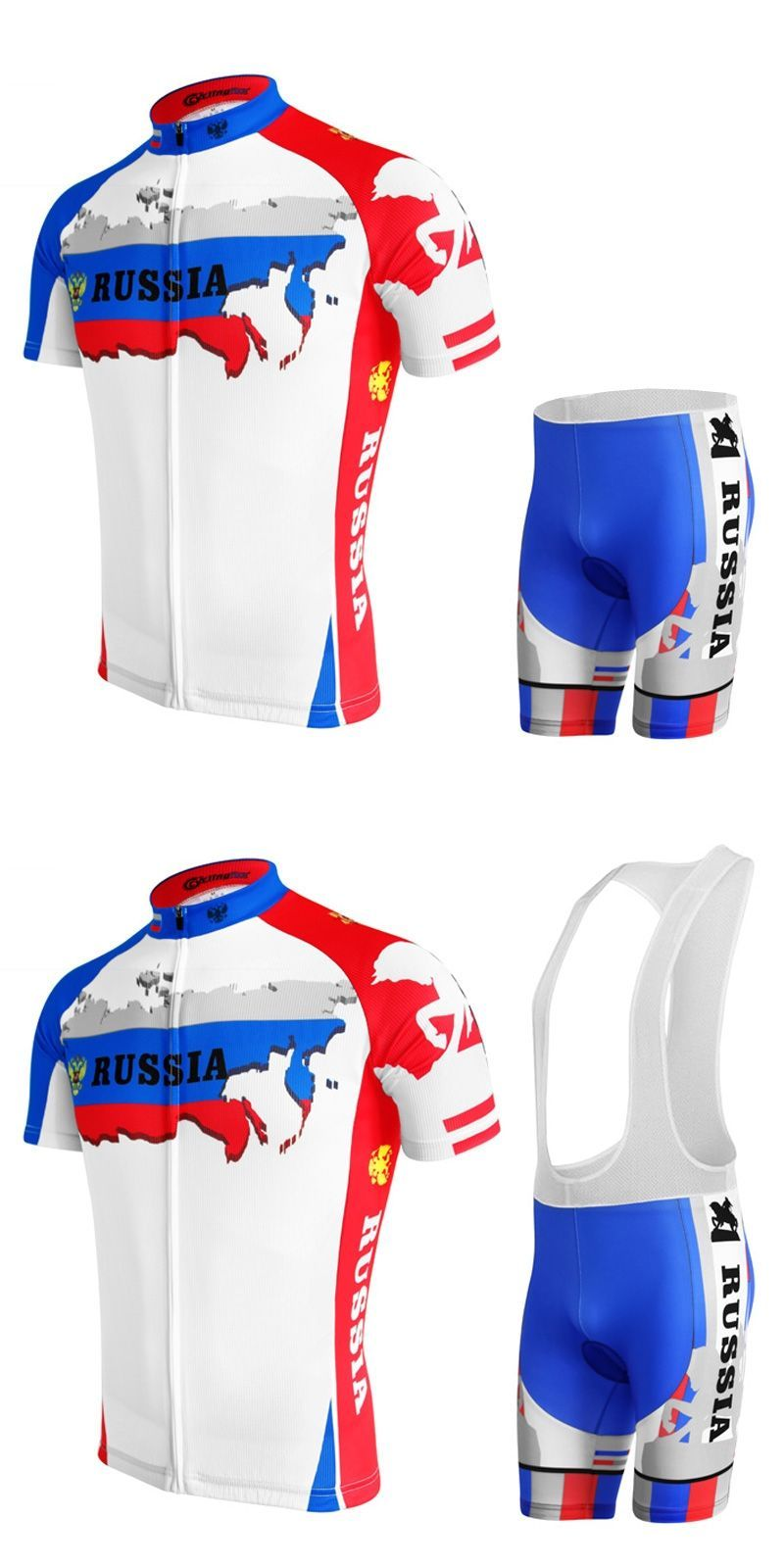 2017 New cube cycling jersey Set men road bike bicycle clothing wear gel  pad Summer Breathable russia team Professional match bcba3205e