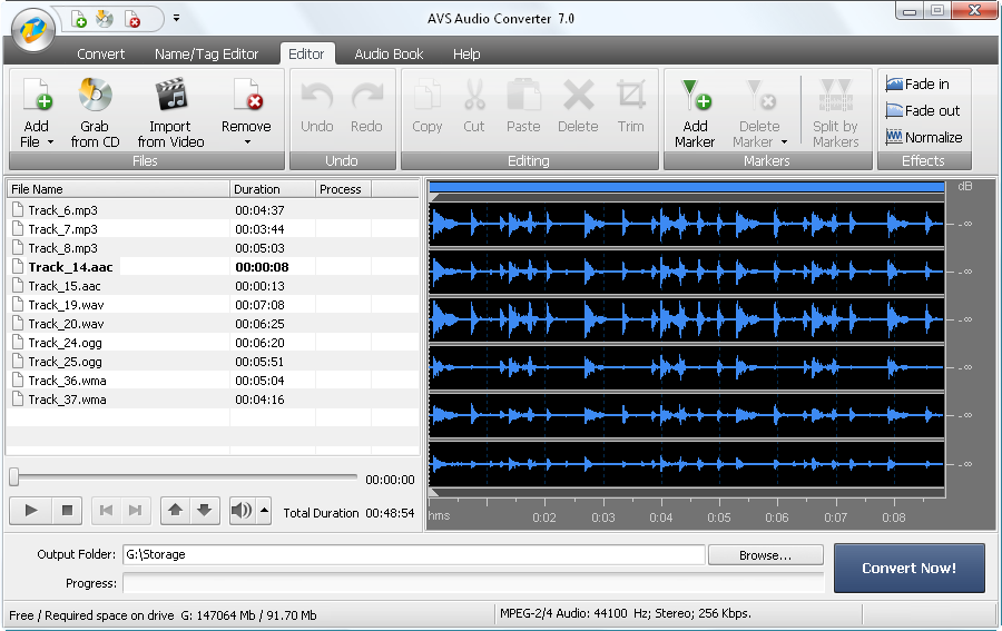 AVS Audio Converter  Convert audio files between any formats
