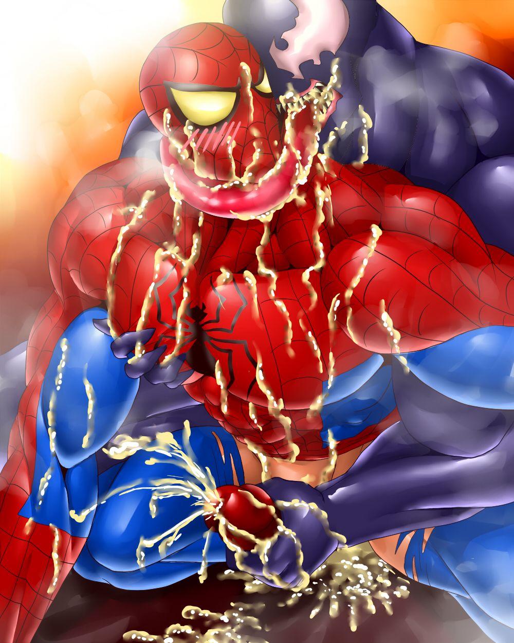 Spiderman porn cartoons