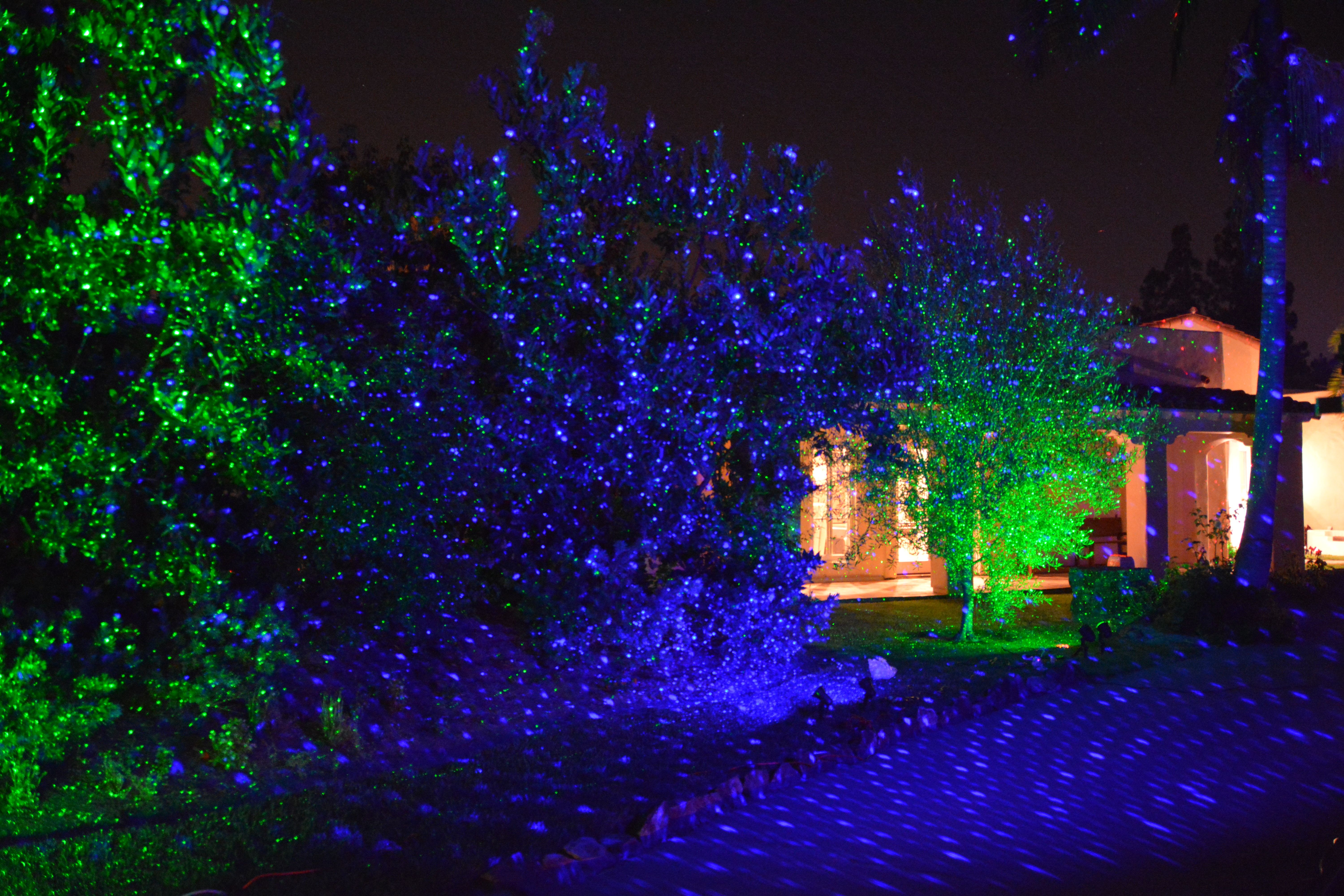 Turn Your Back Yard Into An Oasis Of Light With The Blisslights Spri Holiday Lights Outdoor Laser Christmas Lights Projectors Outdoor Christmas Light Projector