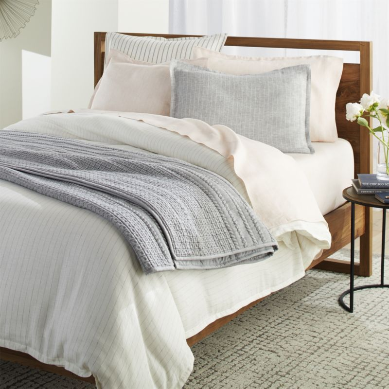 Doret Grey Jersey Quilt King In 2021 White Duvet Covers White Duvet Luxury Bedding Sets