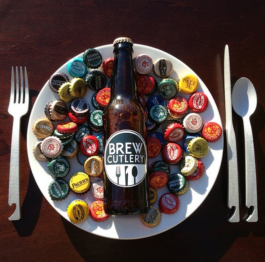 Brew Cutlery - infuses BEER and FOOD together
