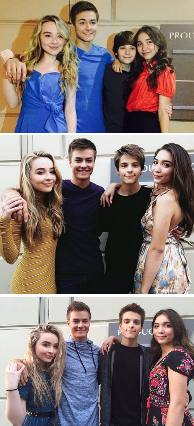 The Cast Of Girl Meets World Recreates Their Signature Pics In