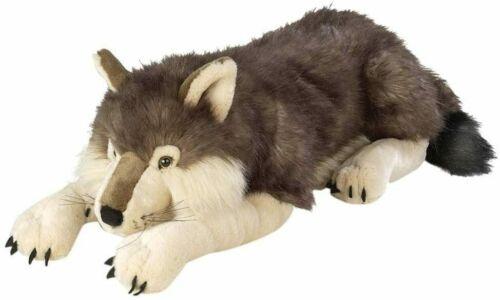 Giant Wolf Stuffed Plush Animal Toy Realistic Soft Large