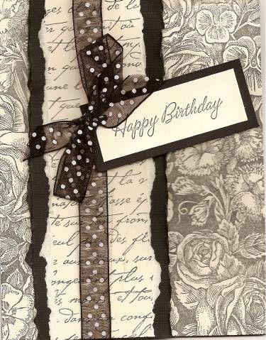 Toile Birthday by mrshungria - Cards and Paper Crafts at Splitcoaststampers