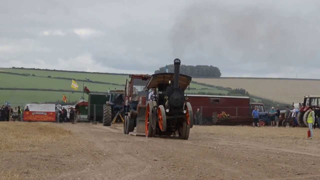 McLaren Steam Engine Tractor Pulling for BBC Countryfile