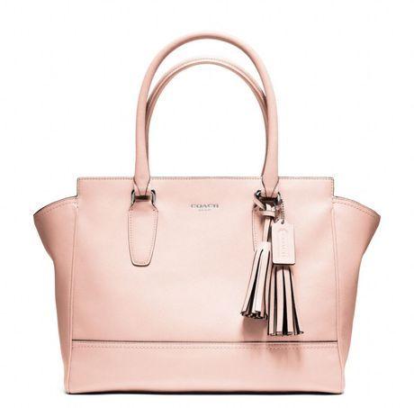 Coach Legacy pink leather handbag  ff089b5153f30
