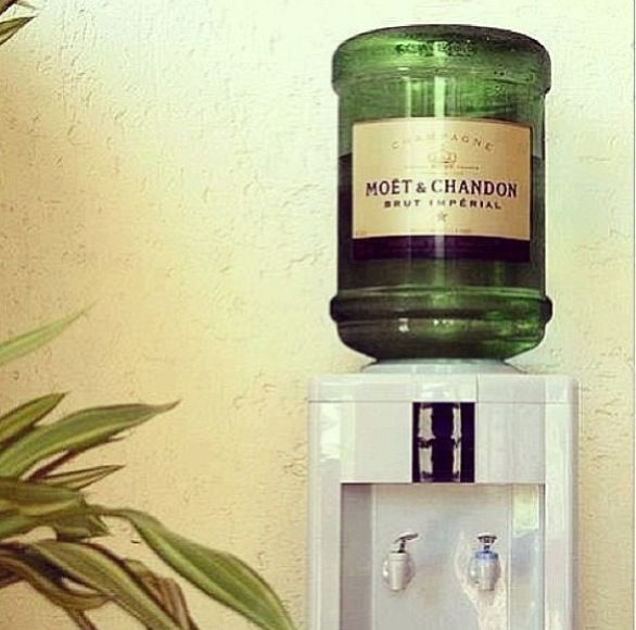 Whenever you need a glass of champagne