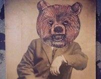 It's a Bear Market by Kelly Kielsmeier, via Behance