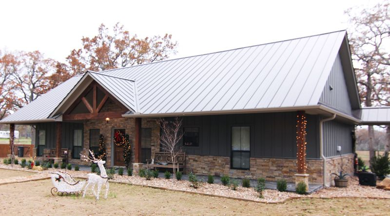 Beast metal building barndominium floor plans and design for Ranch style steel homes