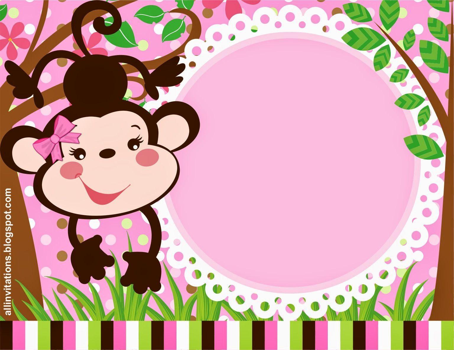 Invitaciónbaby Más | Jungle theme | Pinterest | Invitaciones ...