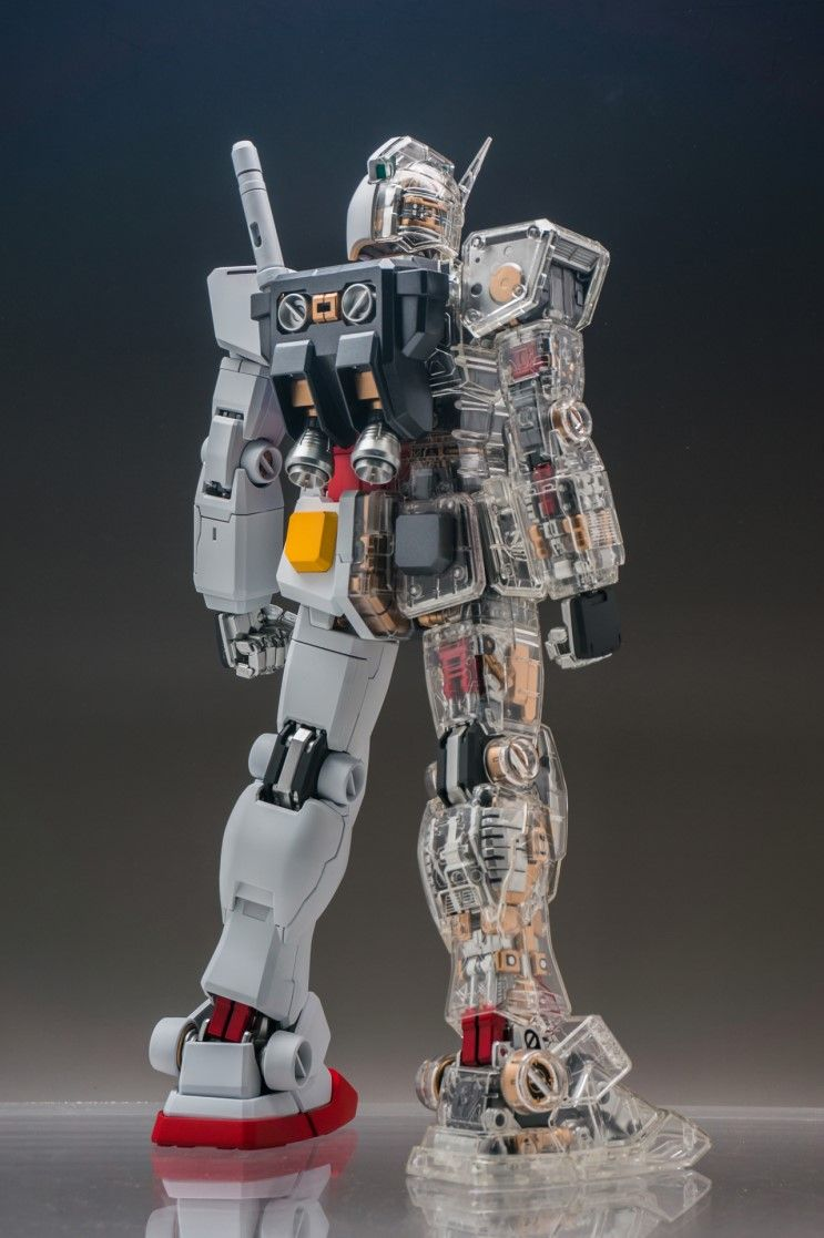 e100564a3b1 Painted Build  PG 1 60 RX-78-2 Gundam Mechanical Clear ver. - Gundam Kits  Collection News and Reviews