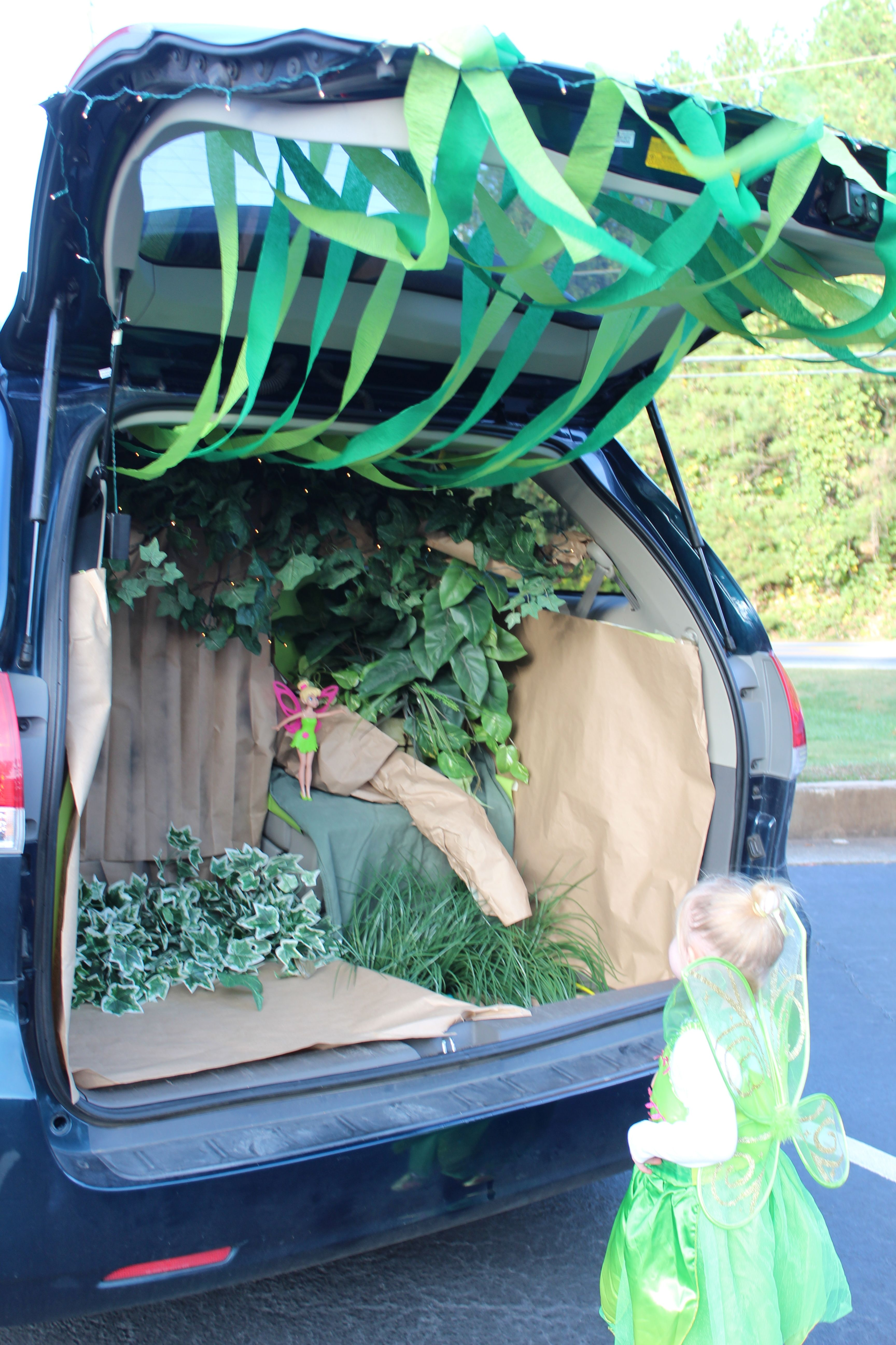 tinker bell s forest trunk or treat ideas trunk or treat family rh pinterest com