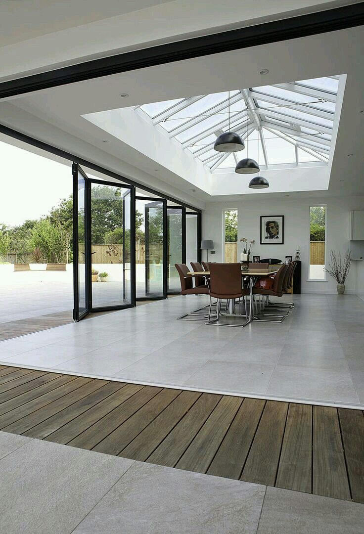 Home Improvements That Will Add Value To Your Property Livingroomskylights Skylightdesignideas Skylightde House Extension Design Skylight Design Roof Design