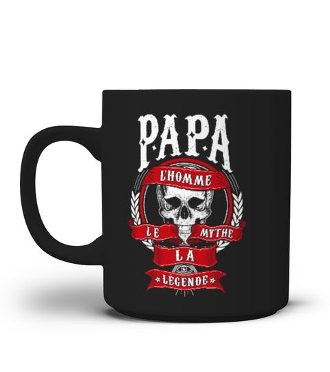 Tasse Cadeau Légende Le Papa Mythe La Pères Mug L'homme Fête Des htsQCrd