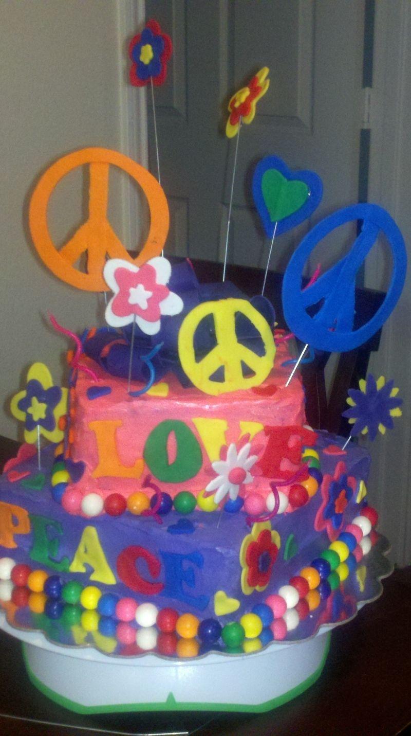 rainbow cake topper big w