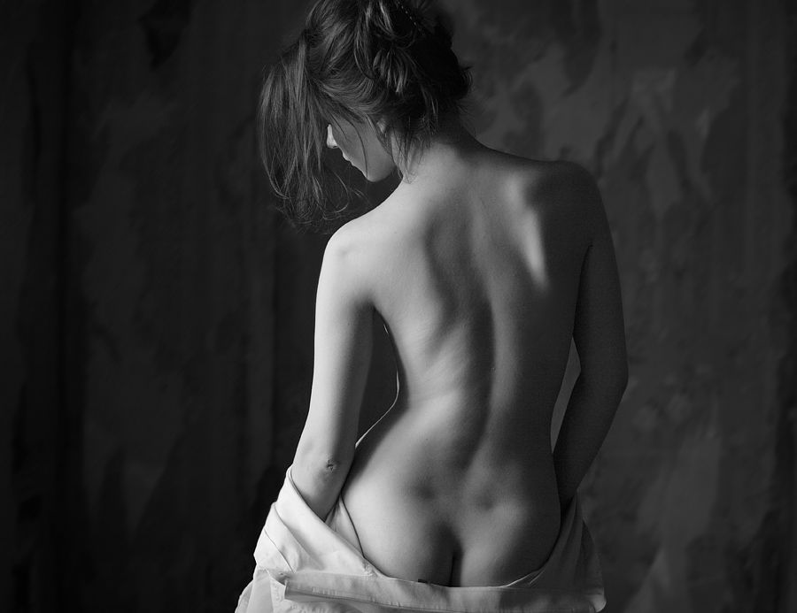 photography white nude and art Black