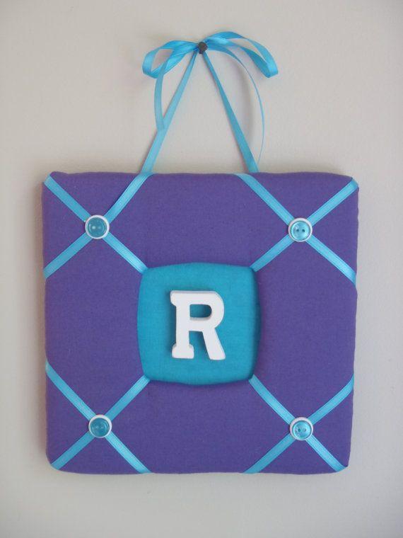 Personalized Monogram Fabric Wall Hanging by LisaMRadDesigns, $15.00