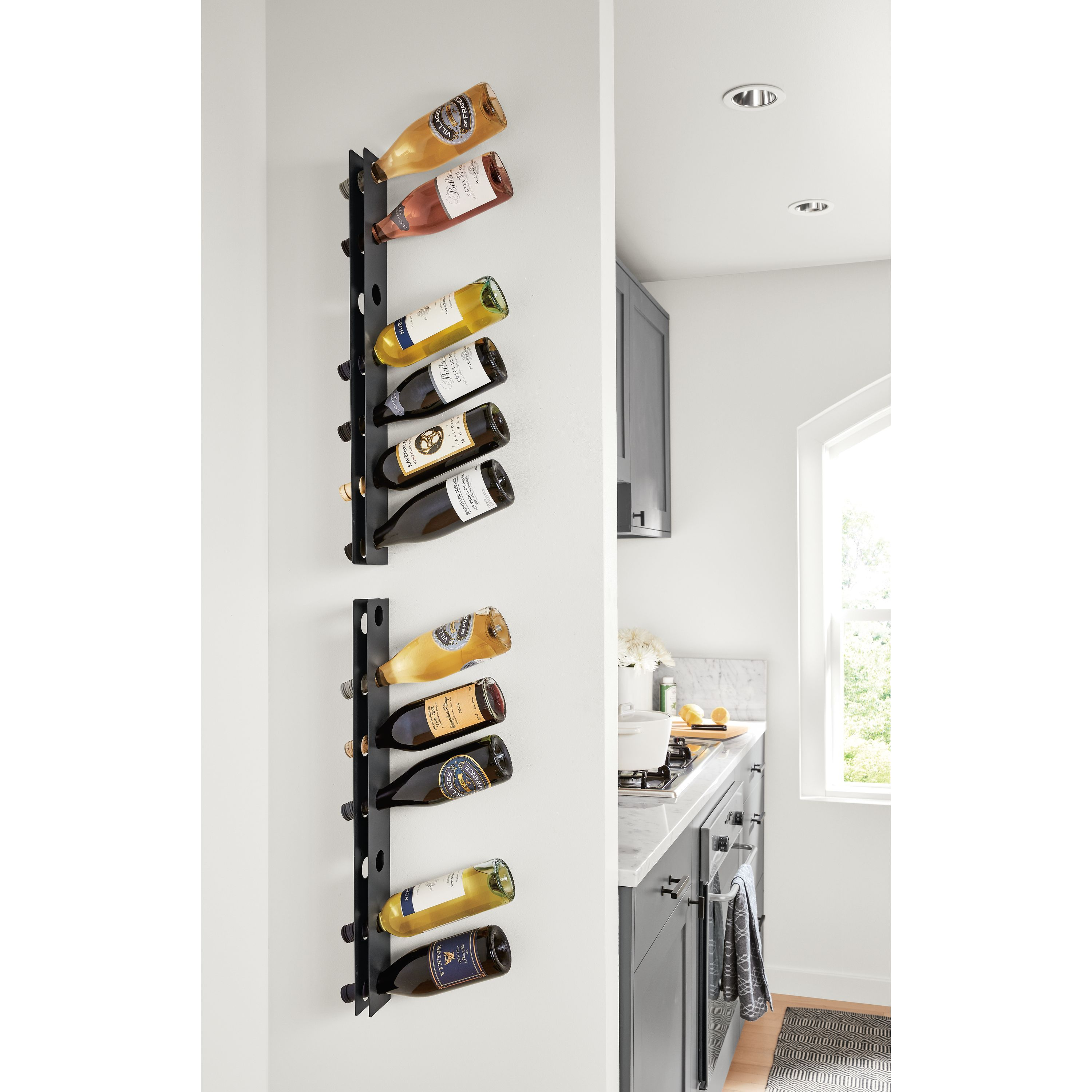 Covent Wall Mounted Wine Rack Modern