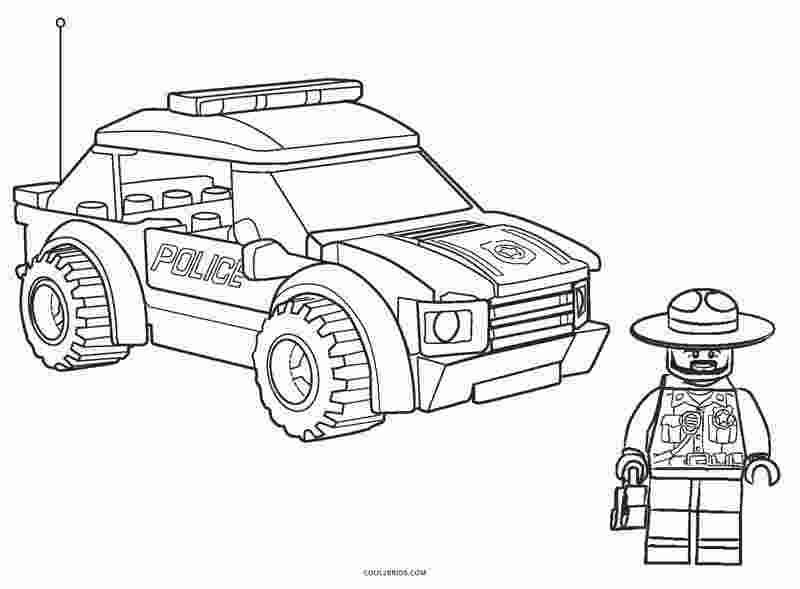 Coloring Book: City police lego coloring pages | More than ...