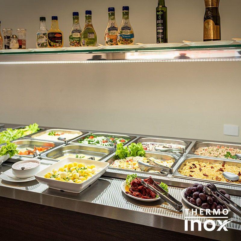 Mesa Buffet Refrigerada Em 2019 Restaurante