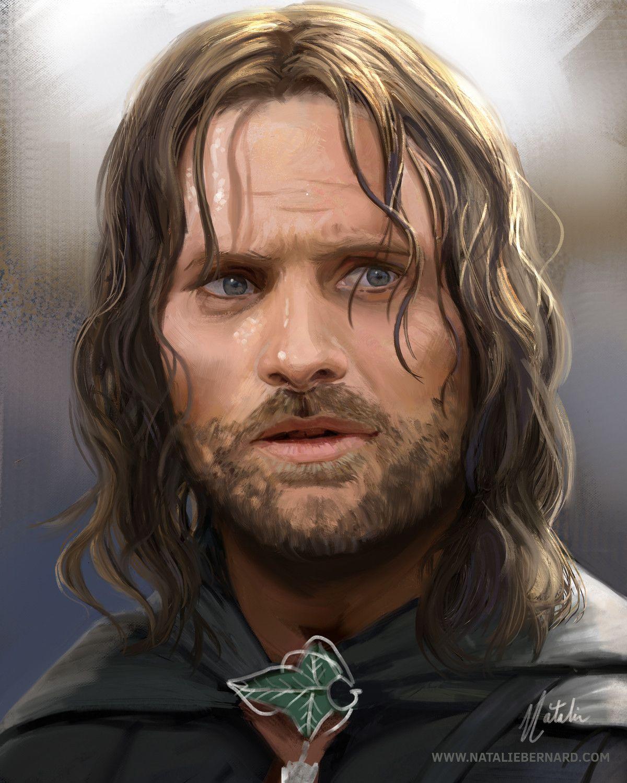Aragorn, Natalie Bernard on ArtStation at https://www ...
