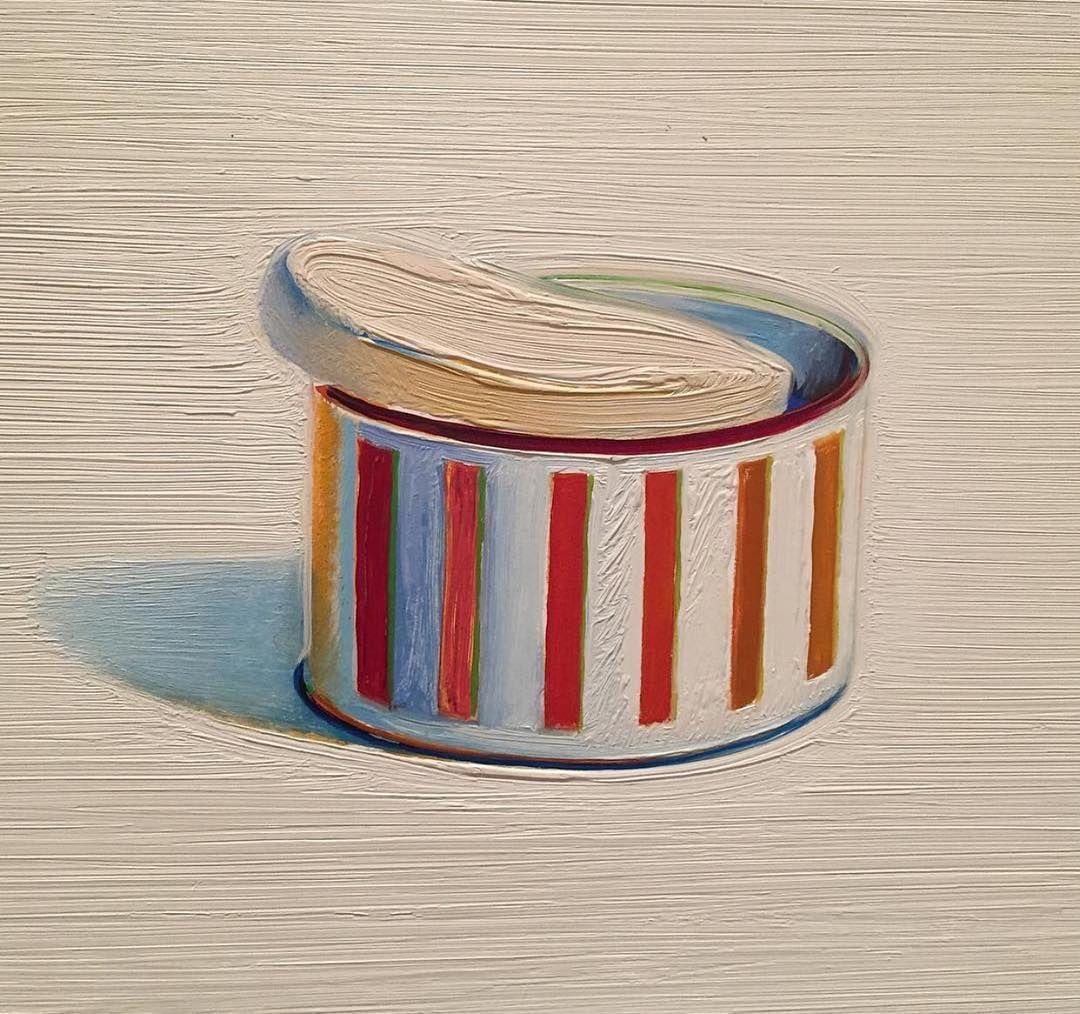 Art For Breakfast On Instagram Milwaukeeart Artist Wayne Thiebaud Title Powder And Puff Medium O Wayne Thiebaud Oil Pastel Colours Mondrian Art