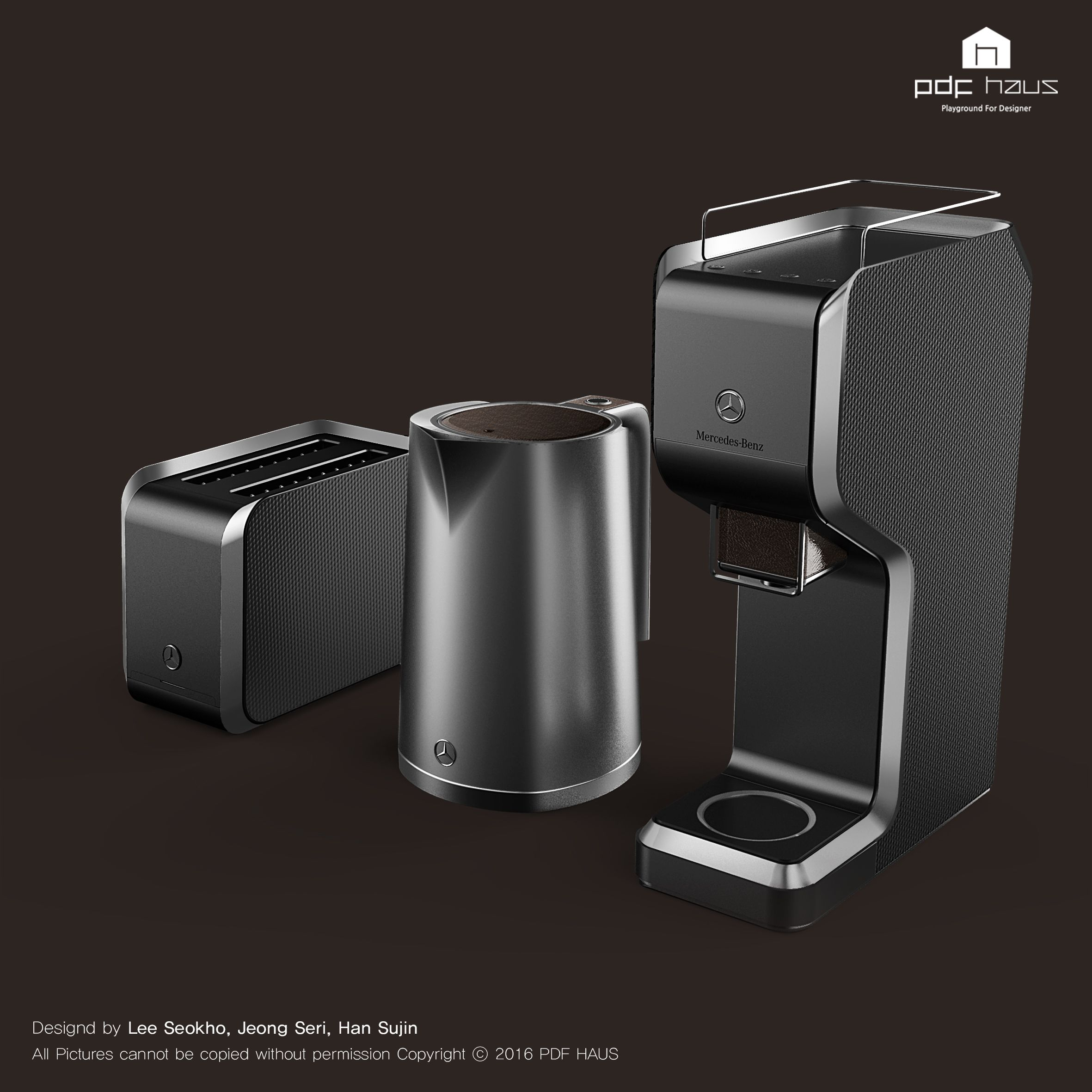 Benz / Kitchen Appliance / Product Design / Industrial