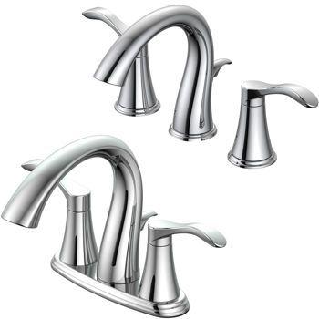 Ombre Convertible Widespread Bathroom Faucet 89 00 Costco