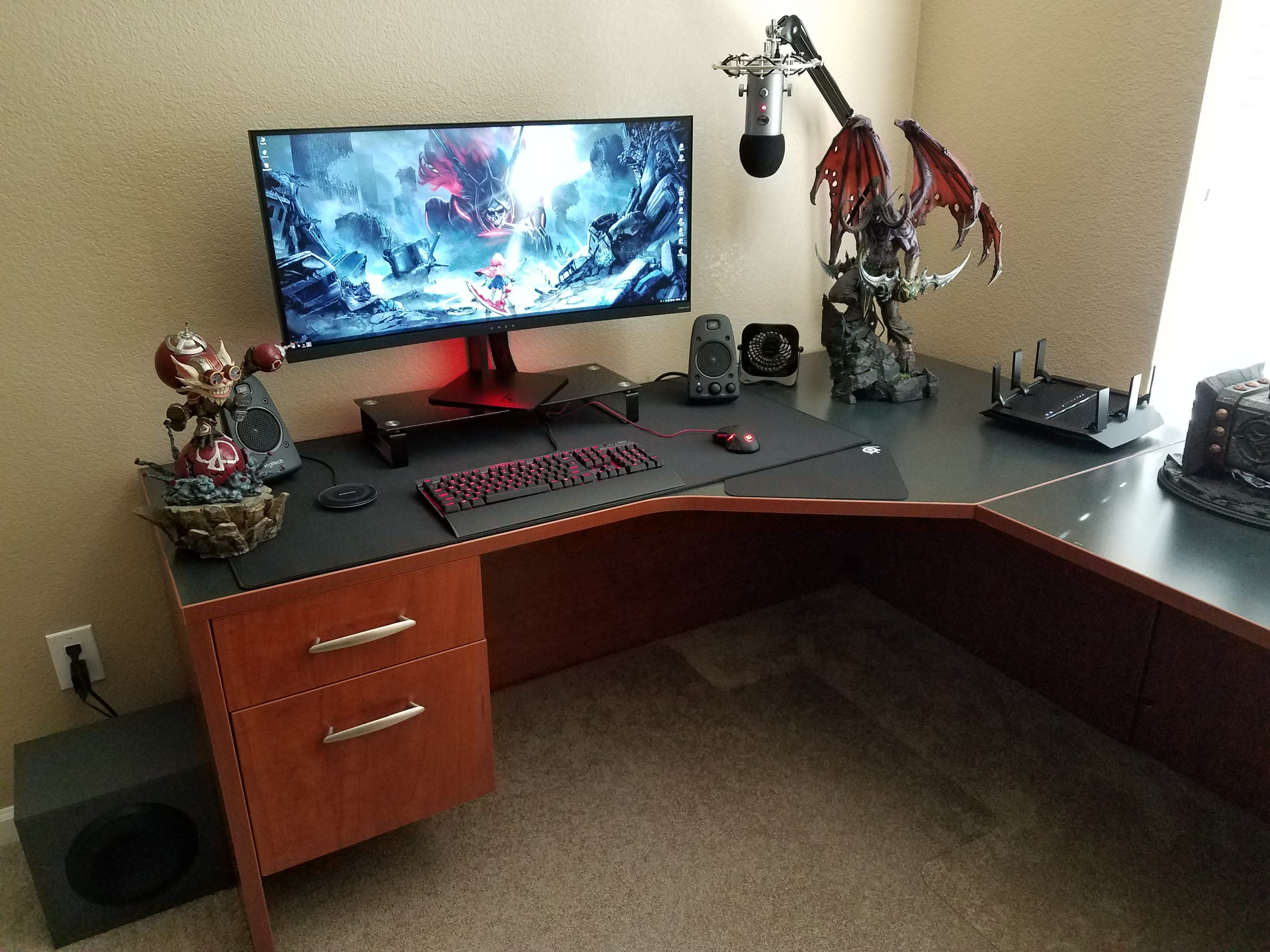 the latest build battlestation rebuilt every couple of years how d