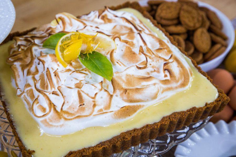 Crisitina Cooks Gingersnap-Meyer Lemon Meringue Tart  | Home & Family | Hallmark Channel