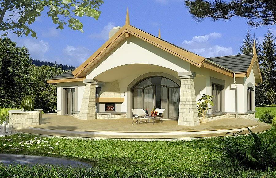 Projekt Domu Arabella 2c House Styles Home House