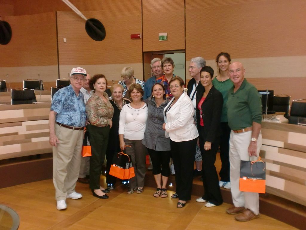 Sarasota Sister Cities Treviso Province orientation at the Provincial Sant' Artemio Complex in September 2010