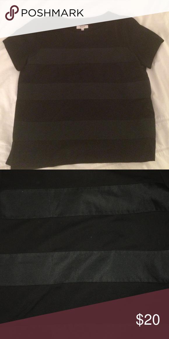 Madewell tee Textured stripe tee Madewell Tops Tees - Short Sleeve
