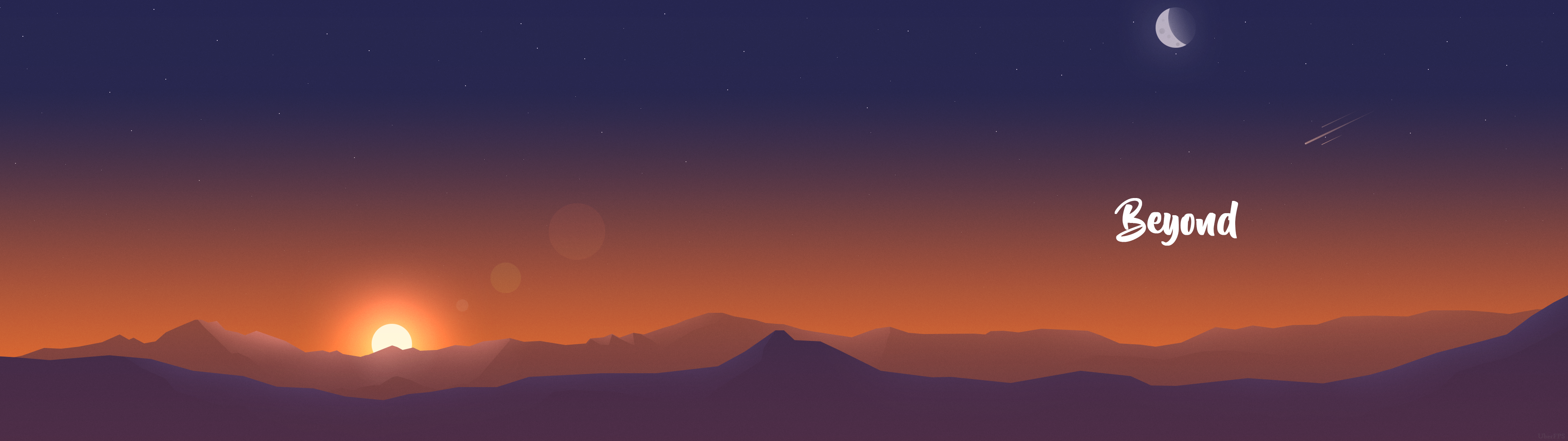 Flat Mountains (Dual Monitor 1920x1080) | Top reddit wallpapers | High quality wallpapers, Hd ...