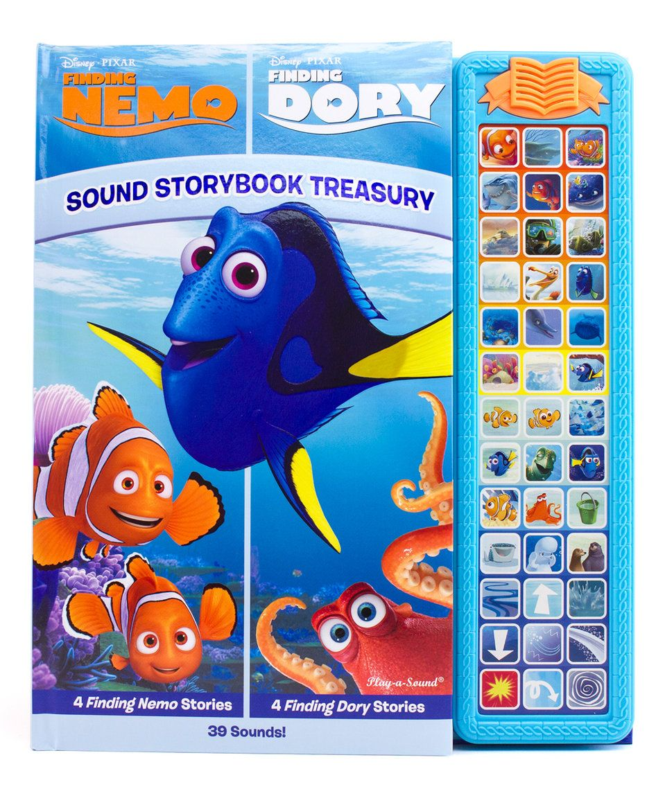 Big Fish Libro Take A Look At This Finding Nemo Finding Dory Sound Storybook